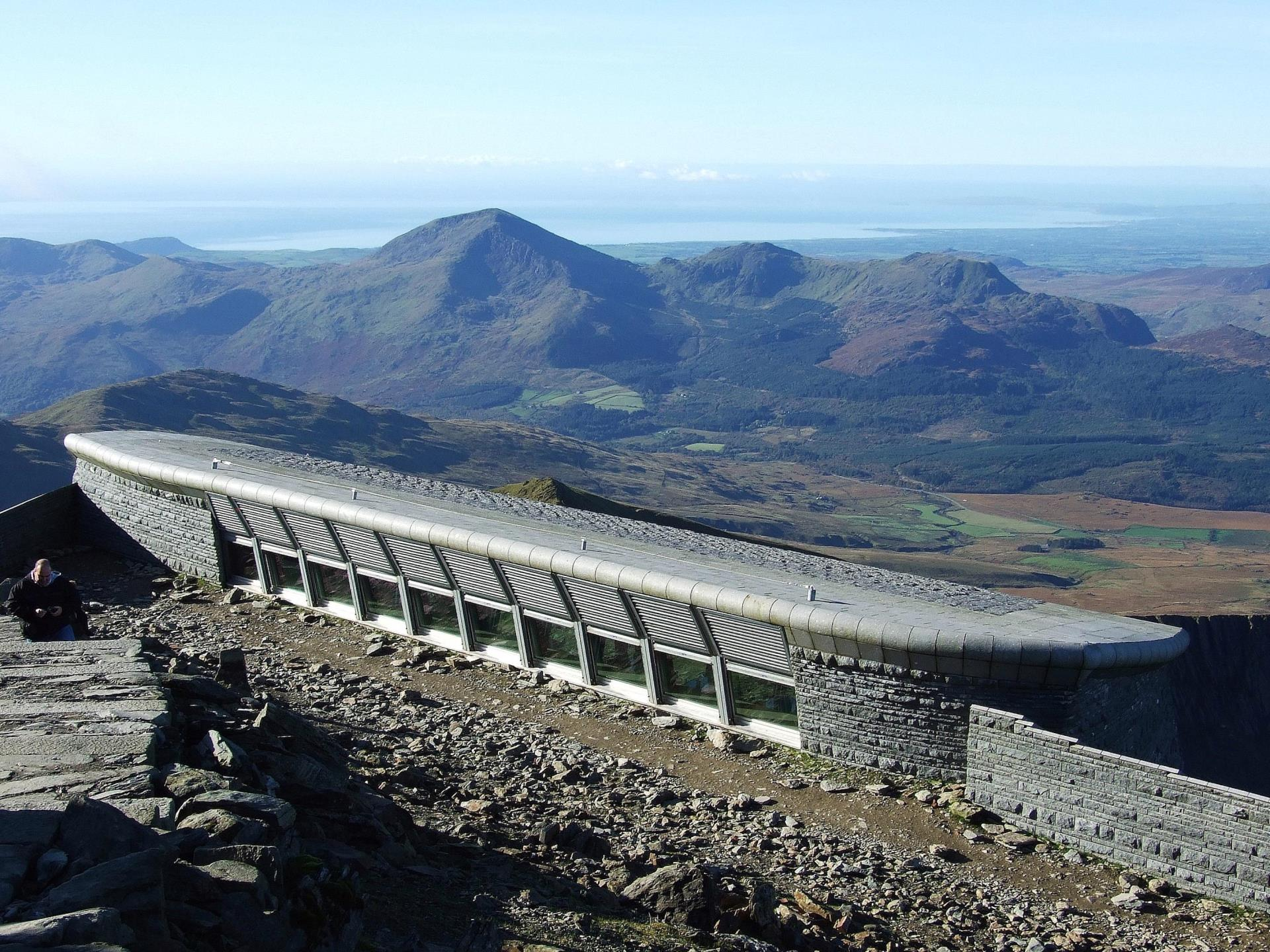 Hafod Eryri on Snowdon Summit