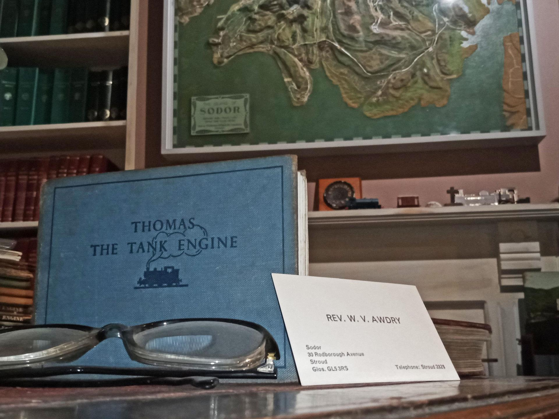 Inside The Reverend Awdry's Study