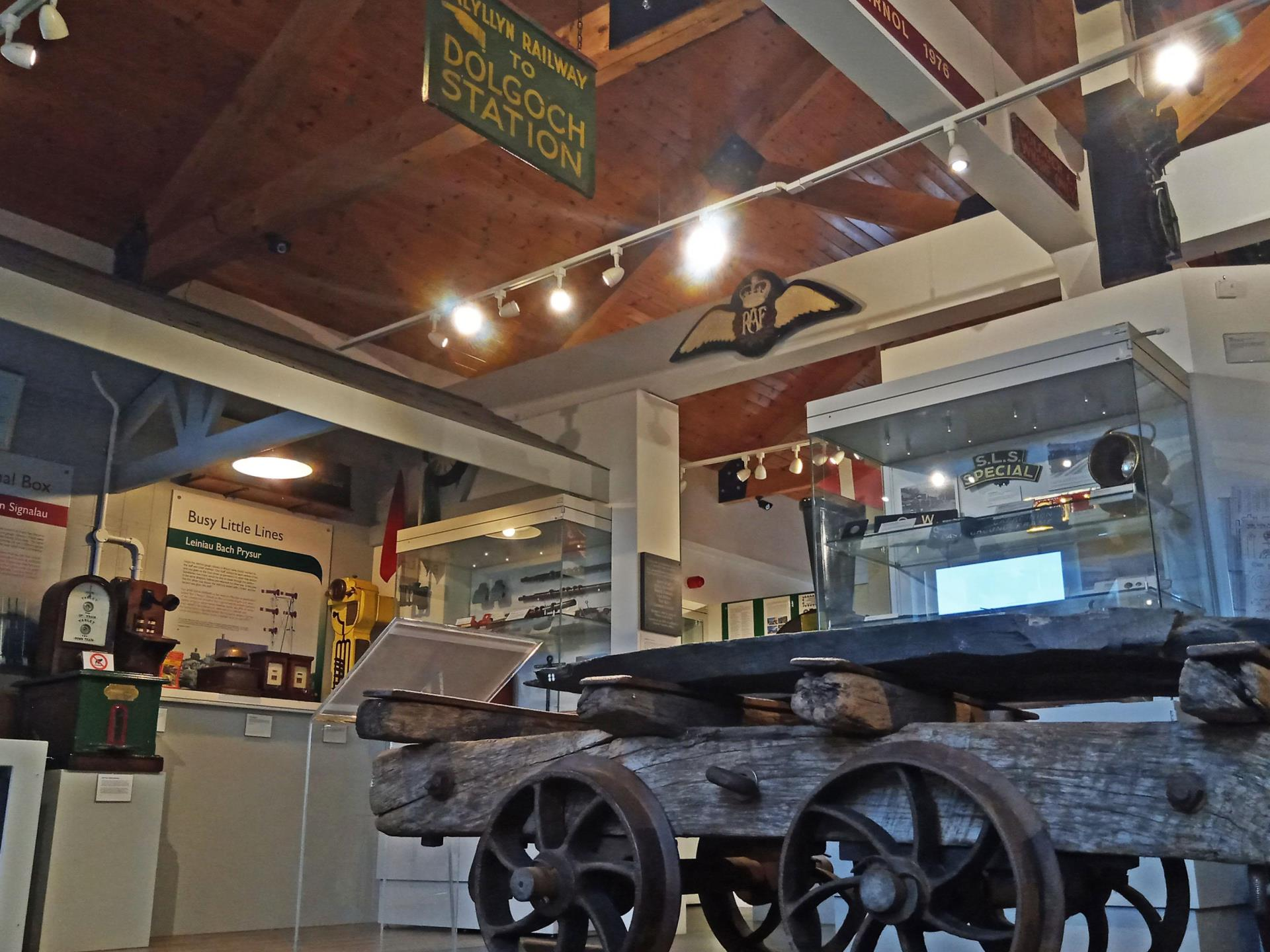 The Narrow Gauge Railway Museum - Top Floor