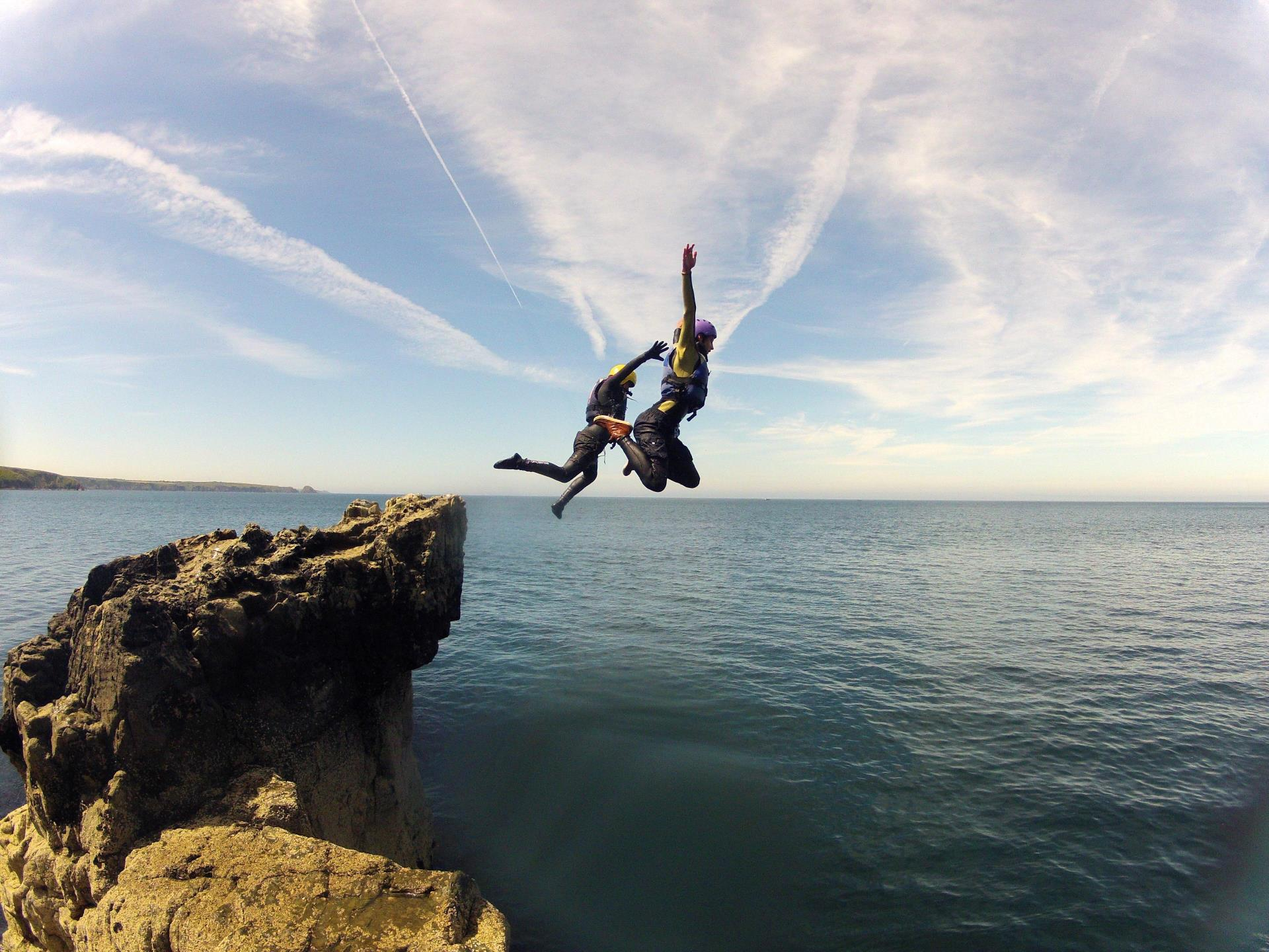 Coasteering Adventure Wales