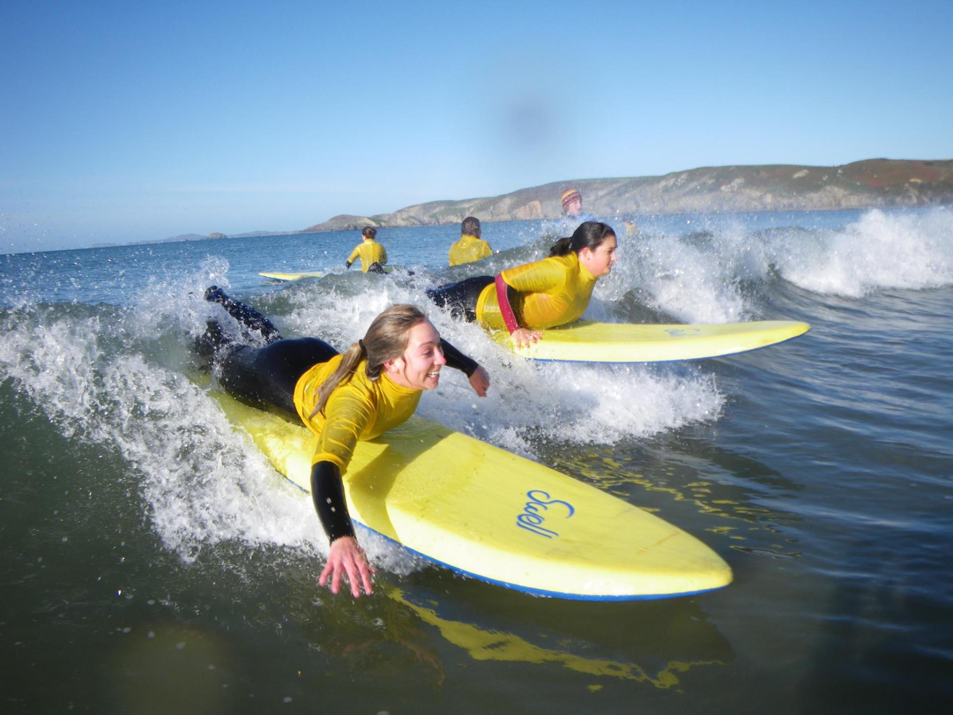 Surfing Adventure Newgale Beach