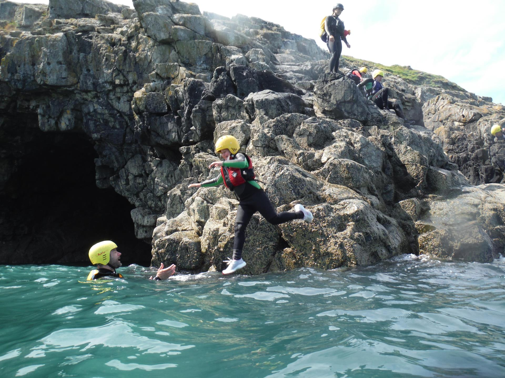 Family Coasteering Adventure