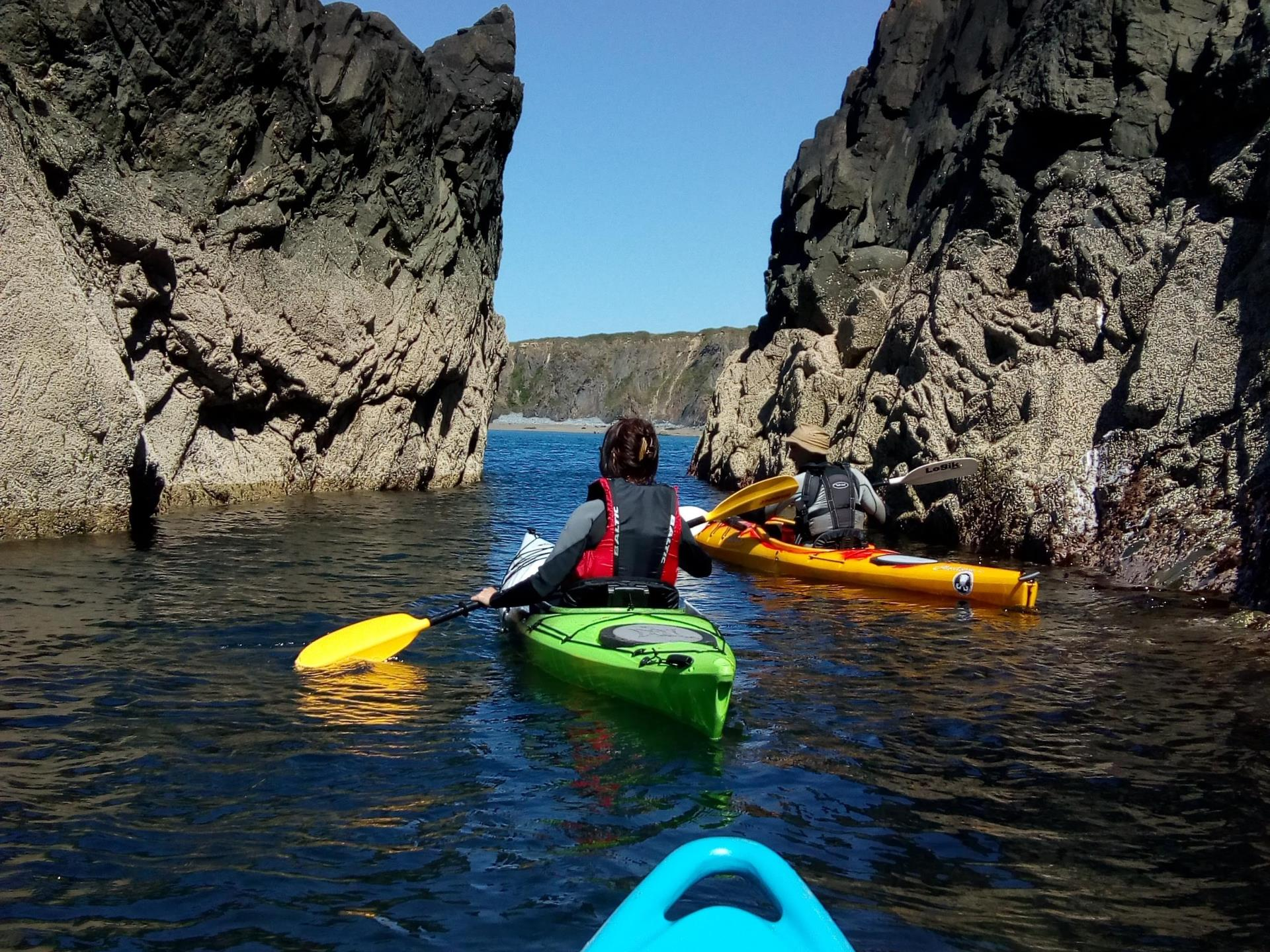 Sea Kayaking St David's