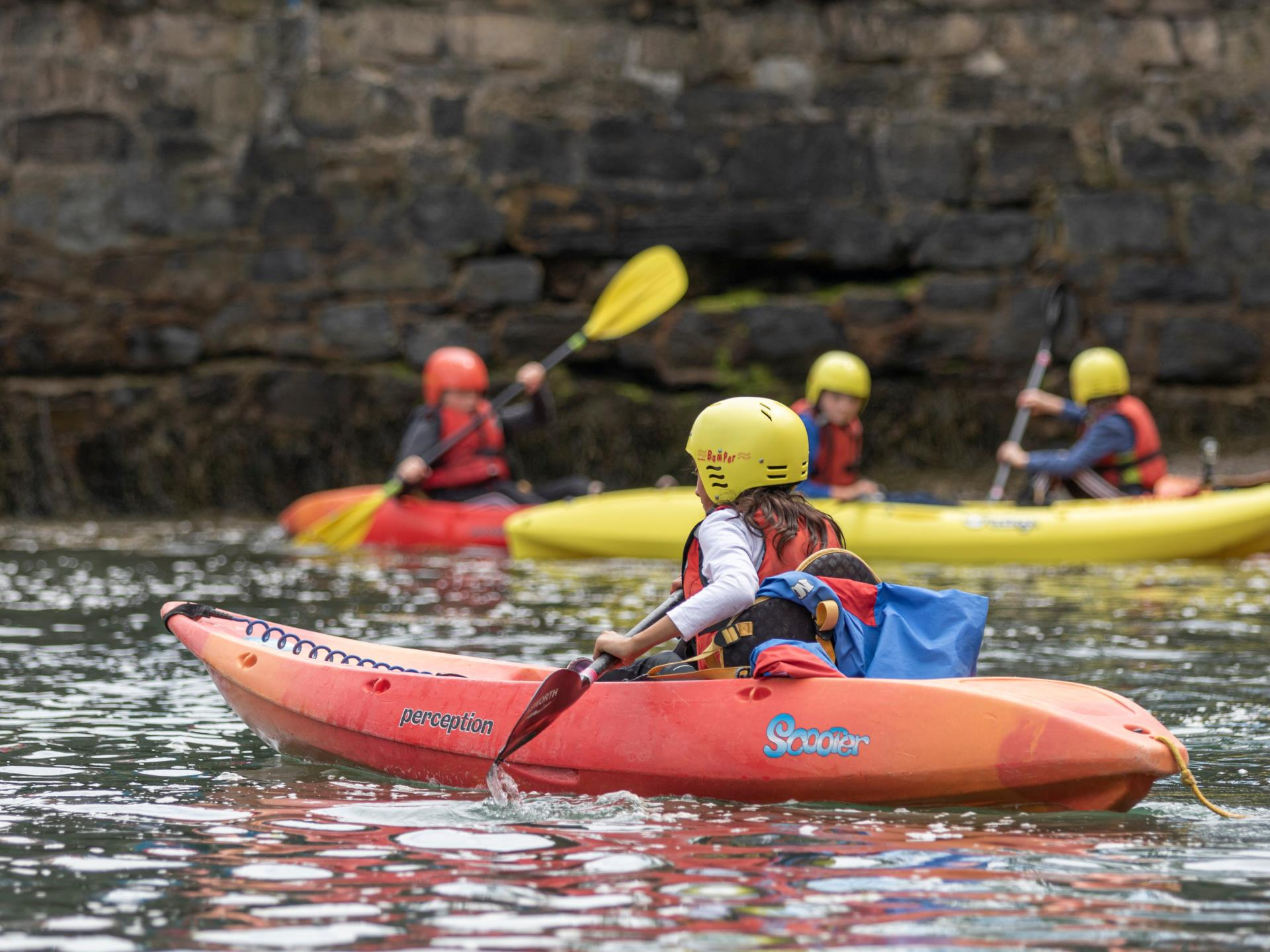 Kayaking Anglesey