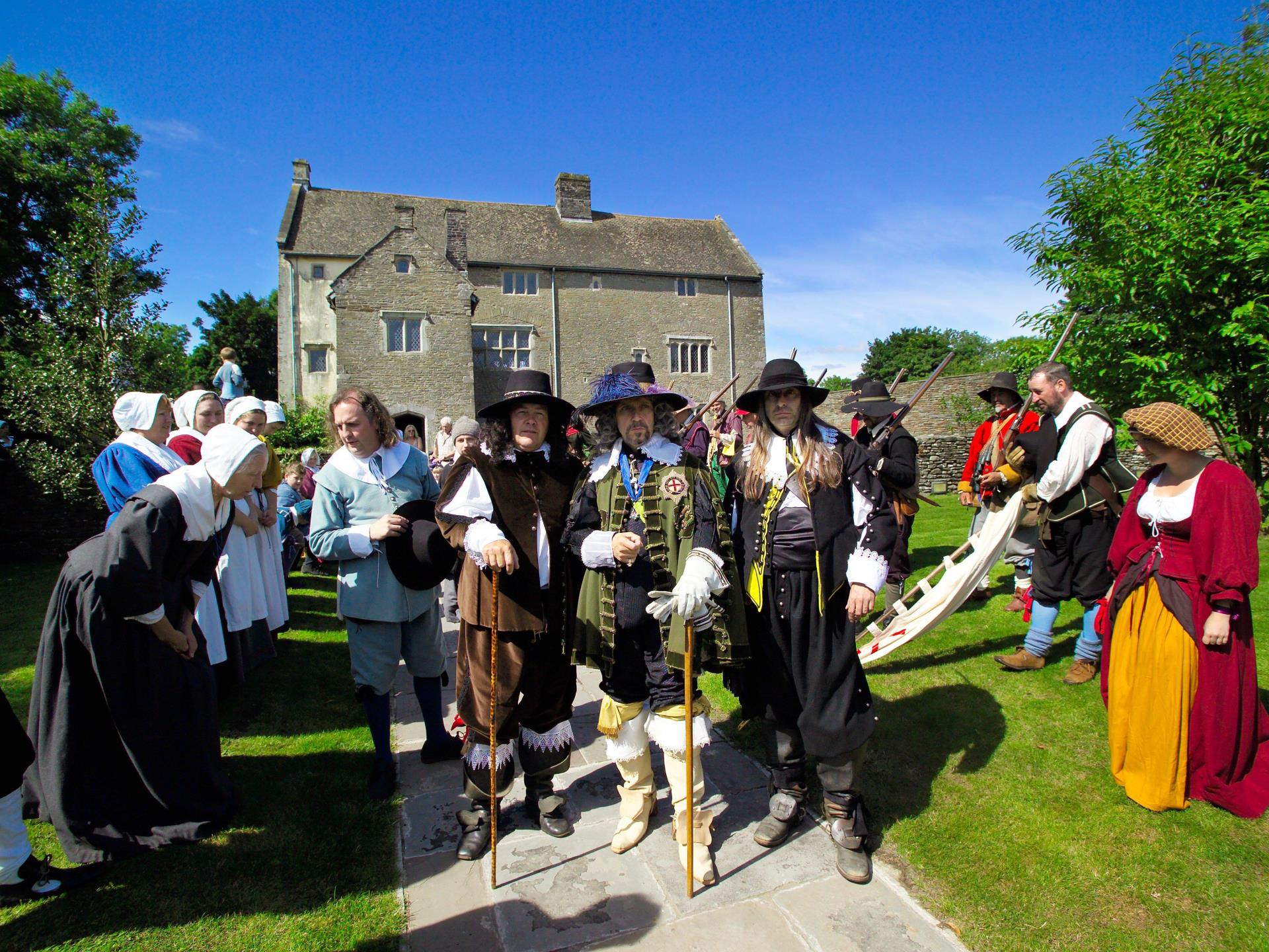 King's Day at Llancaiach Fawr Manor