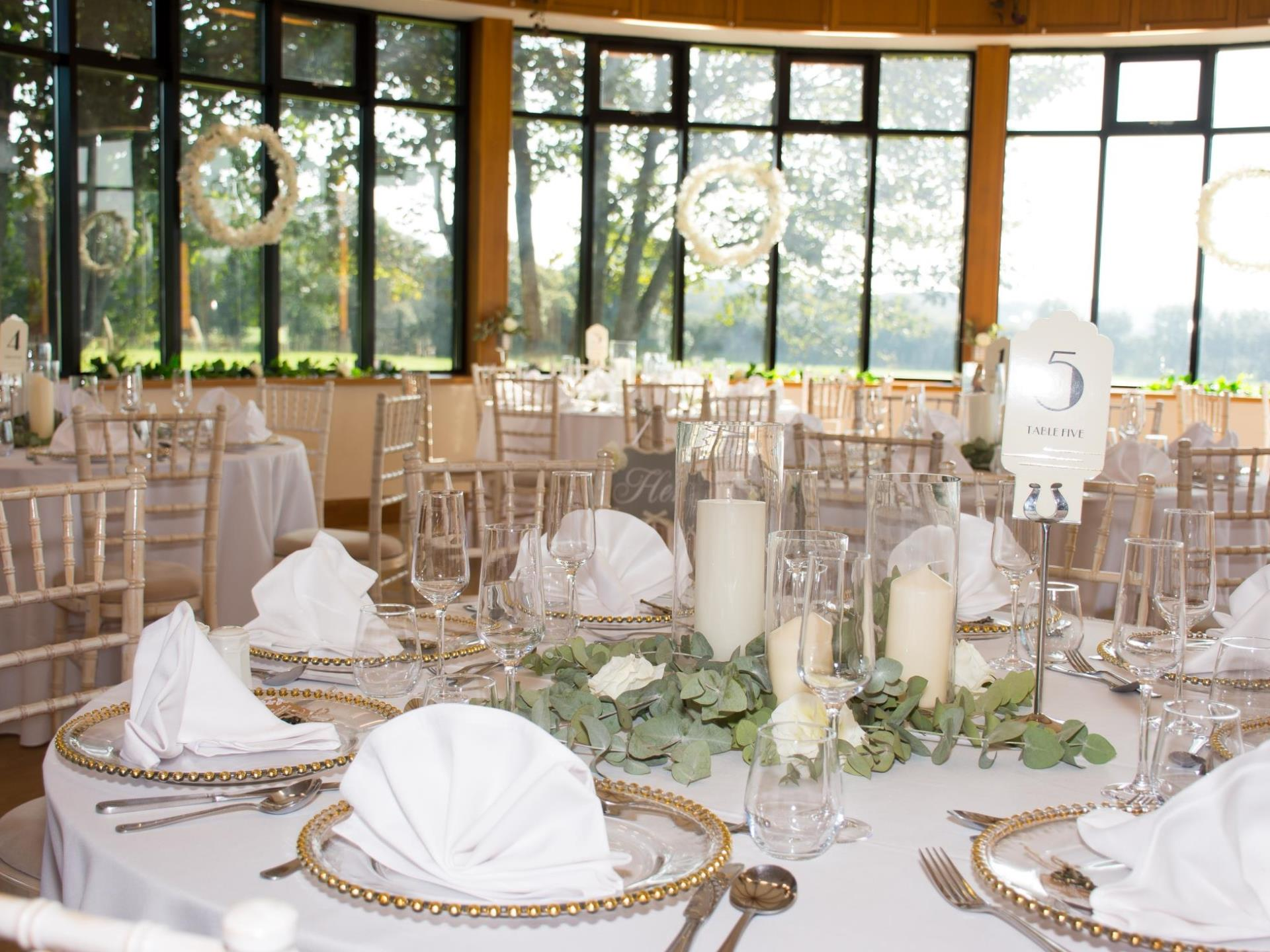 Conservatory Restaurant Wedding at Llancaiach Fawr