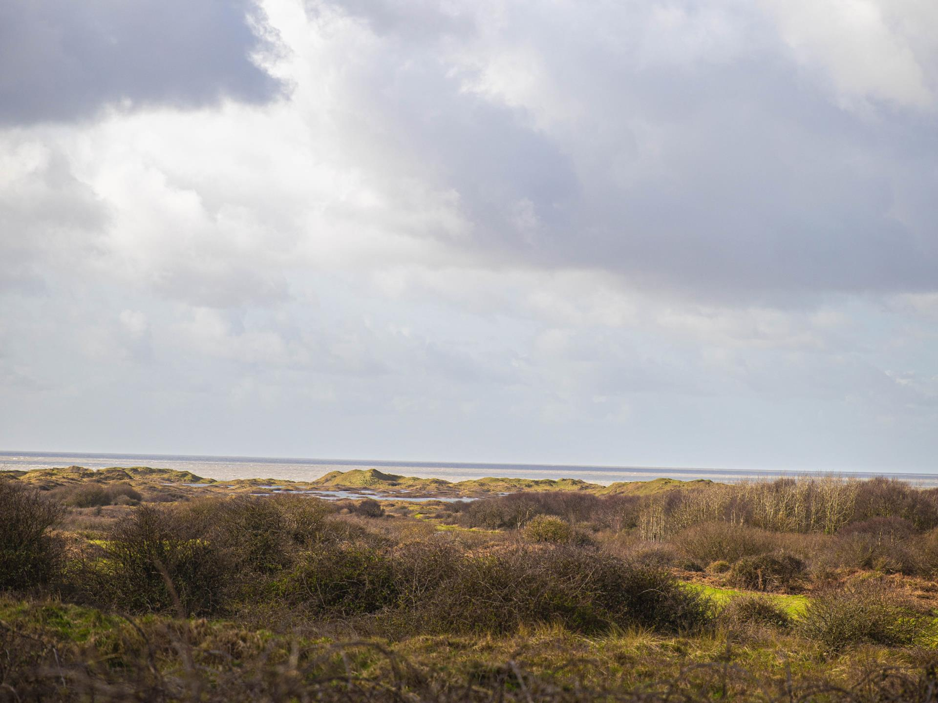 Kenfig NNR view out to sea