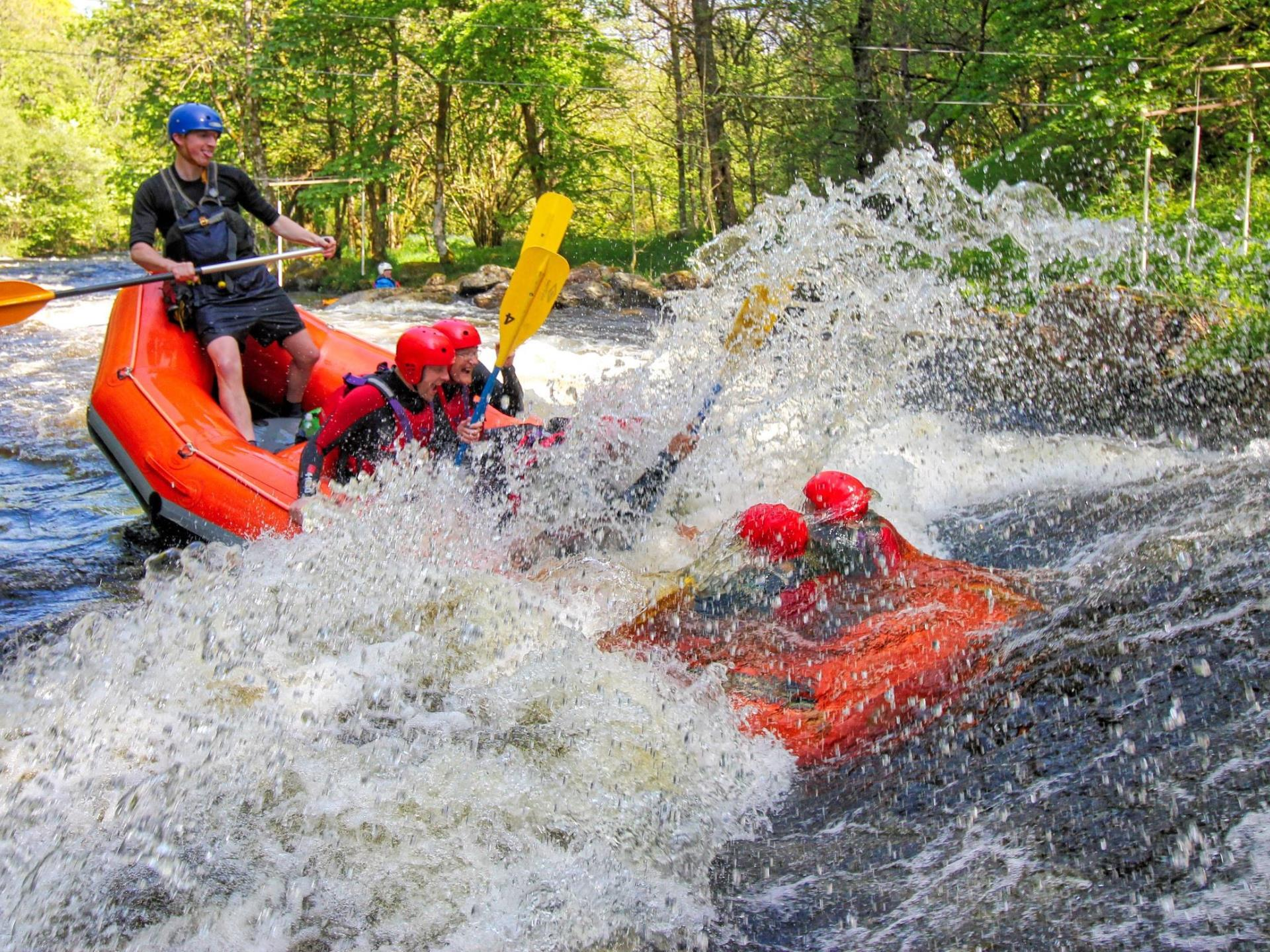Rafting Full Session on the River Tryweryn