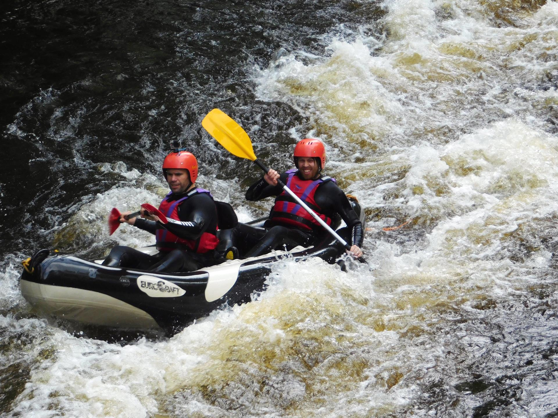 Ultimate challenge at National White Water Centre