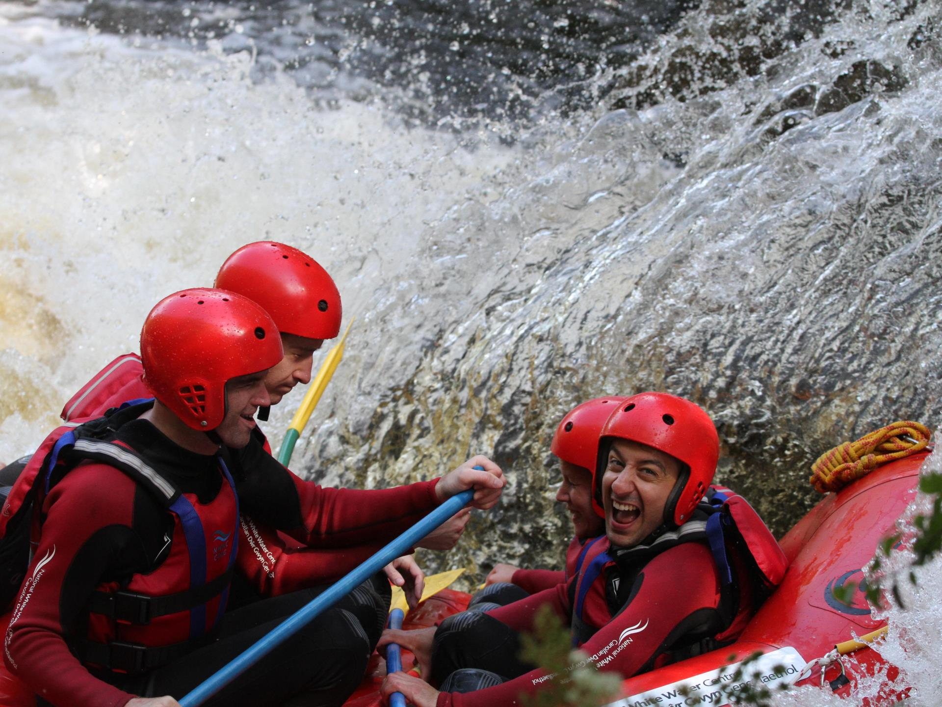Rafting with the National White Water Centre