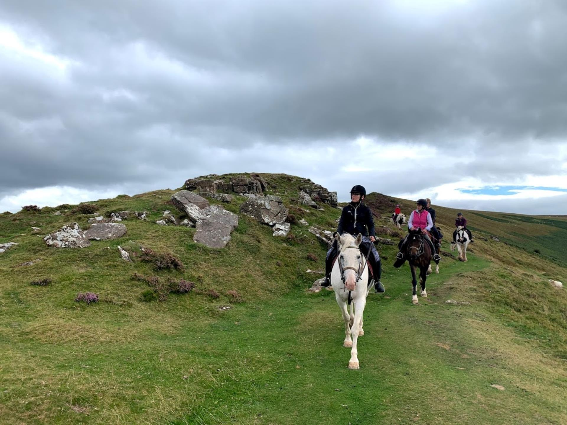 Pony trekking with Ellesmere Riding Centre Brecon