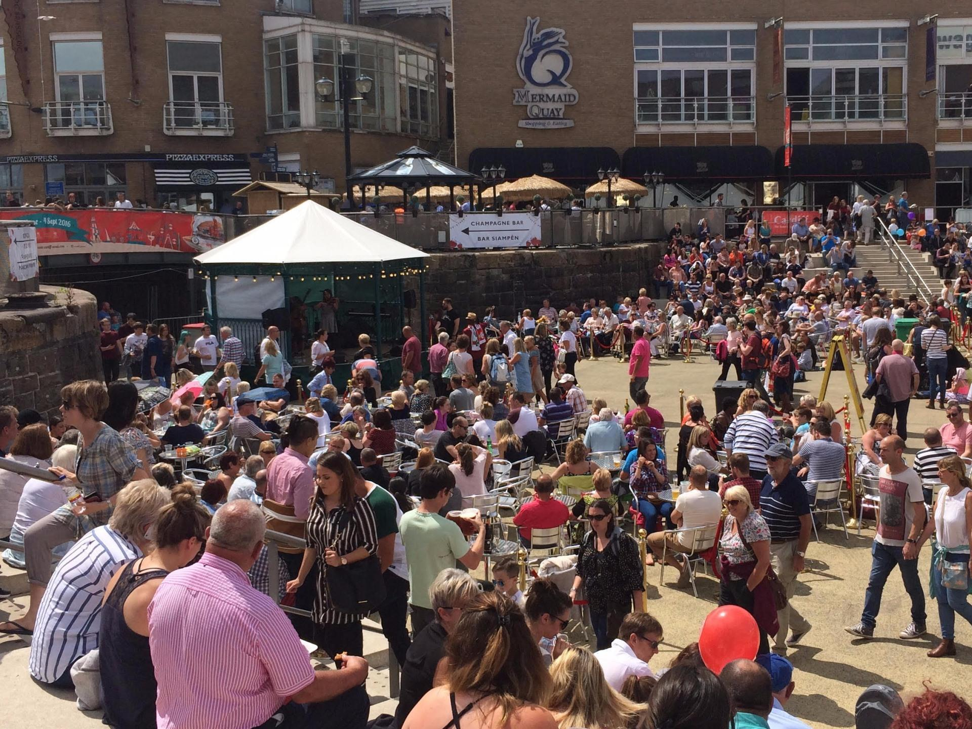Cardiff International Food And Drink Festival At Cardiff Bay