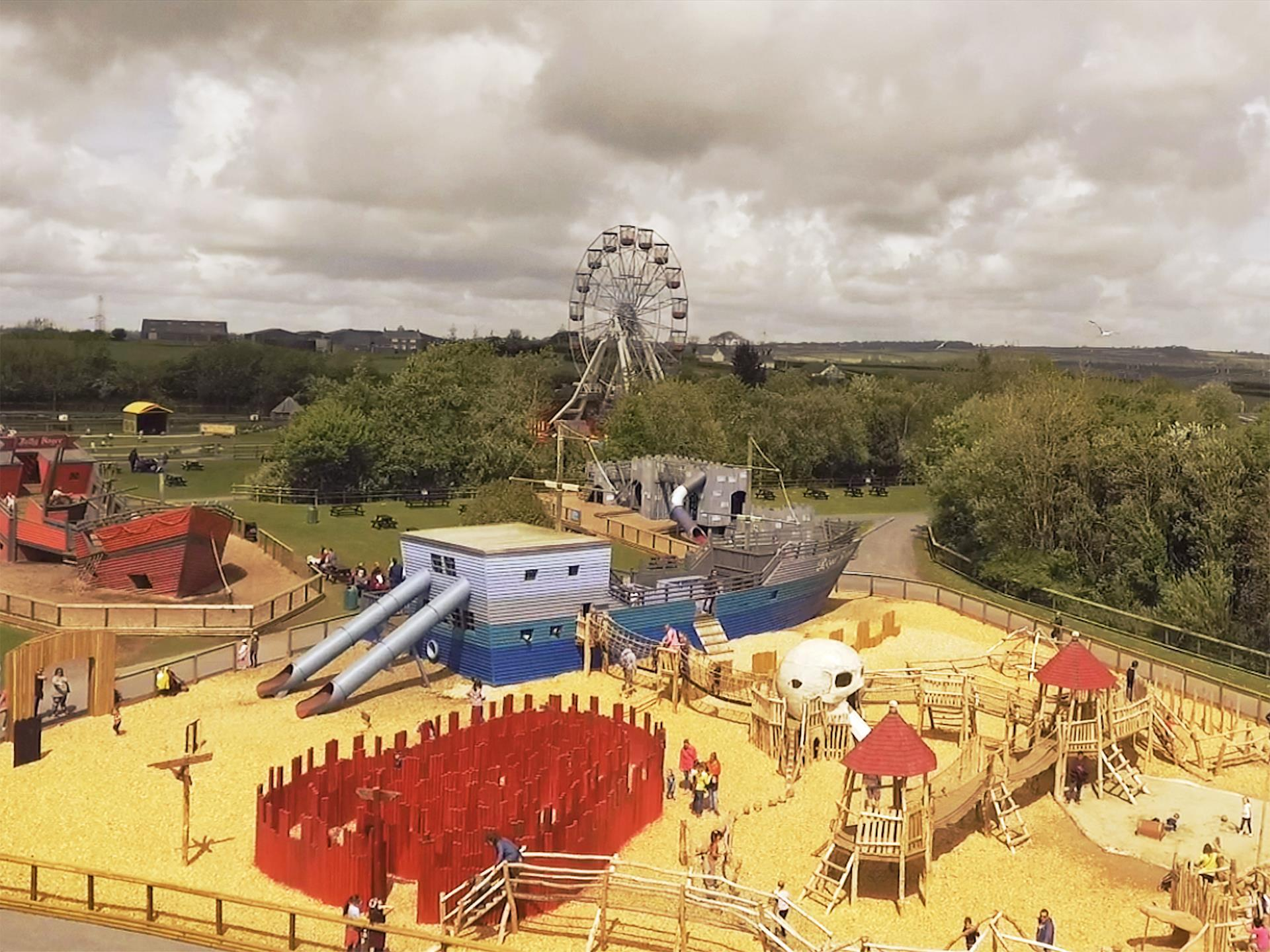 The Pirate Playground at Folly Farm