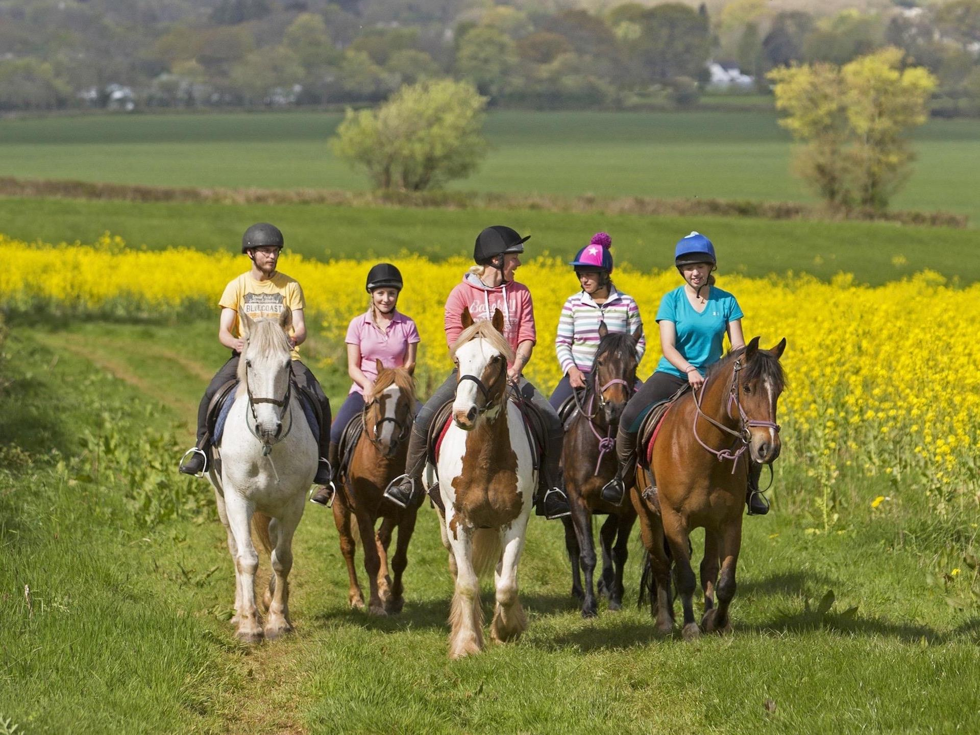 Horse Riding on Private Bridleways