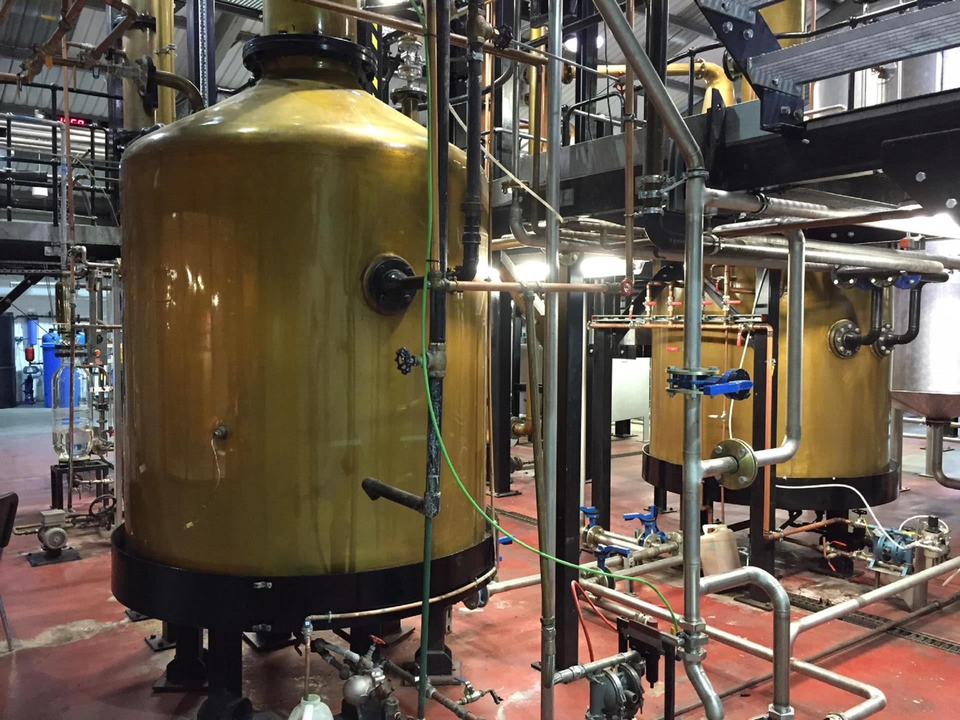 Penderyn's Unique Faraday Stills