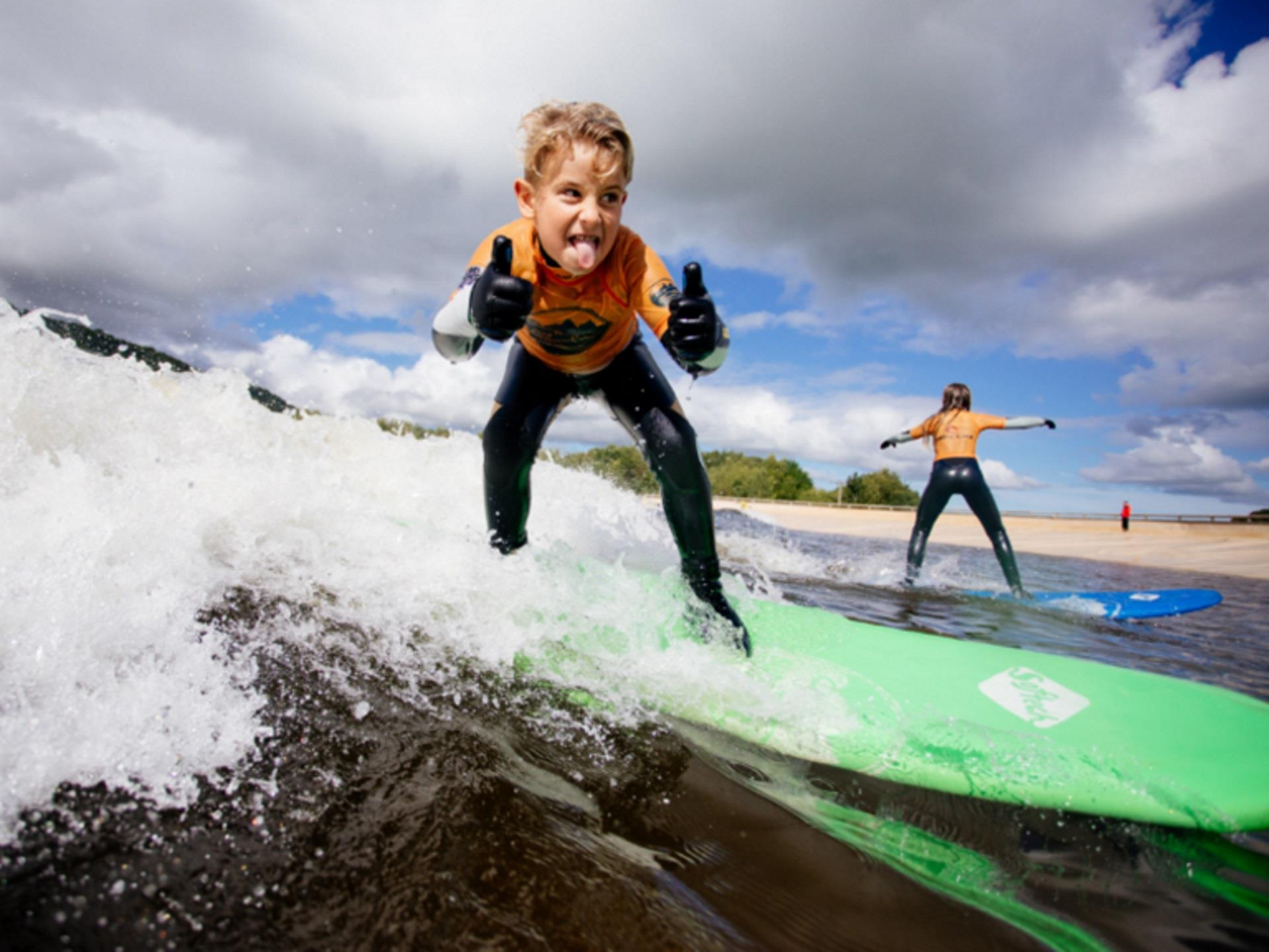 Surf Lessons at Adventure Parc Snowdonia