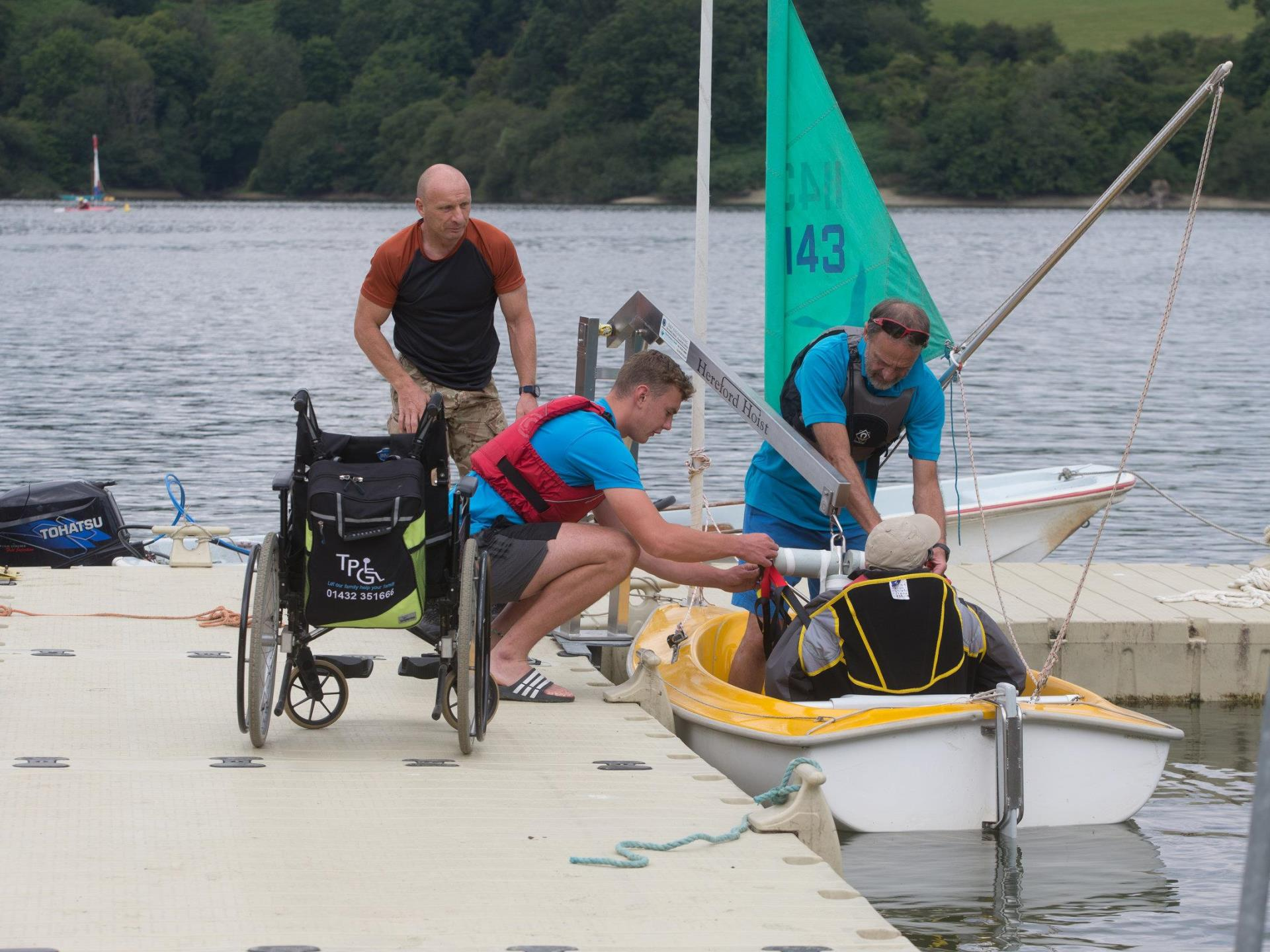 Sailability at Llandegfedd Lake