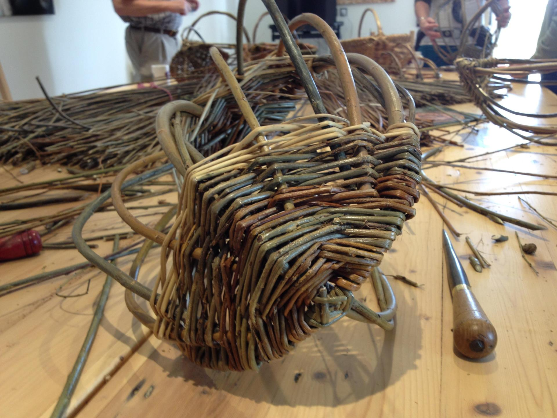 Willow Weaving at Humble by Nature