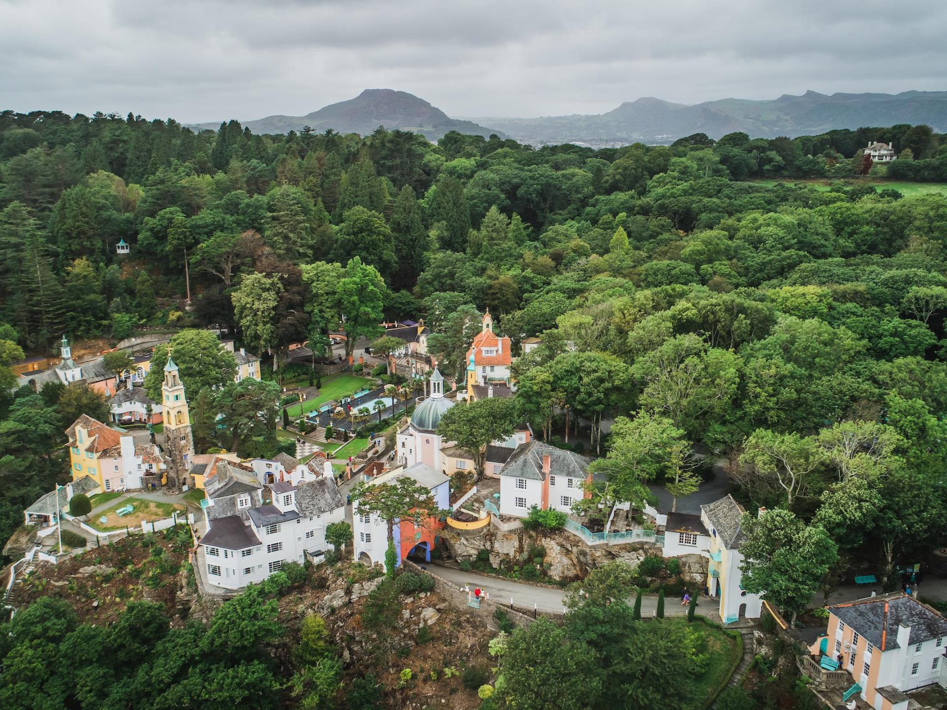 Portmeirion Italianate Village Snowdonia