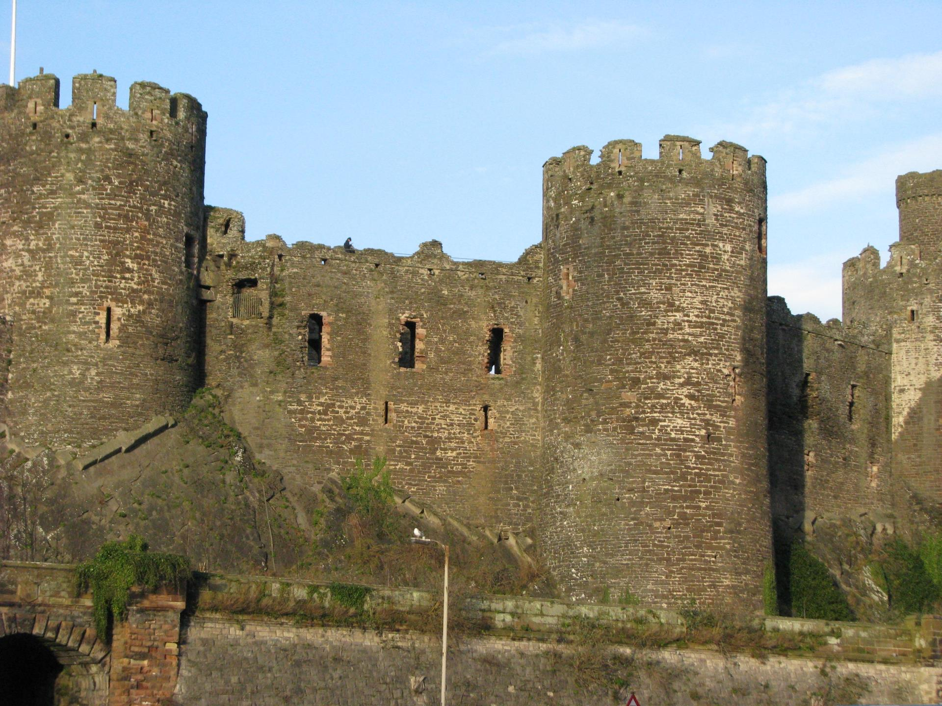 Castell  Conwy Castle