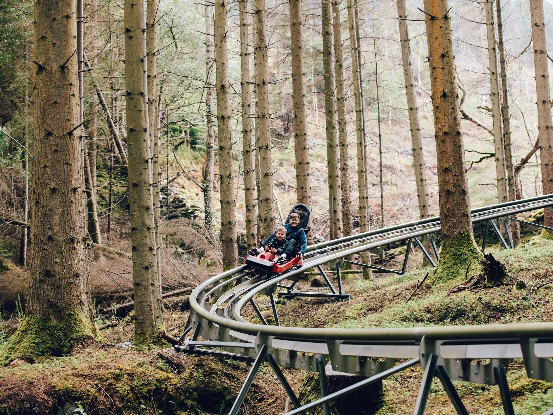 Europe's only alpine coaster of its kind