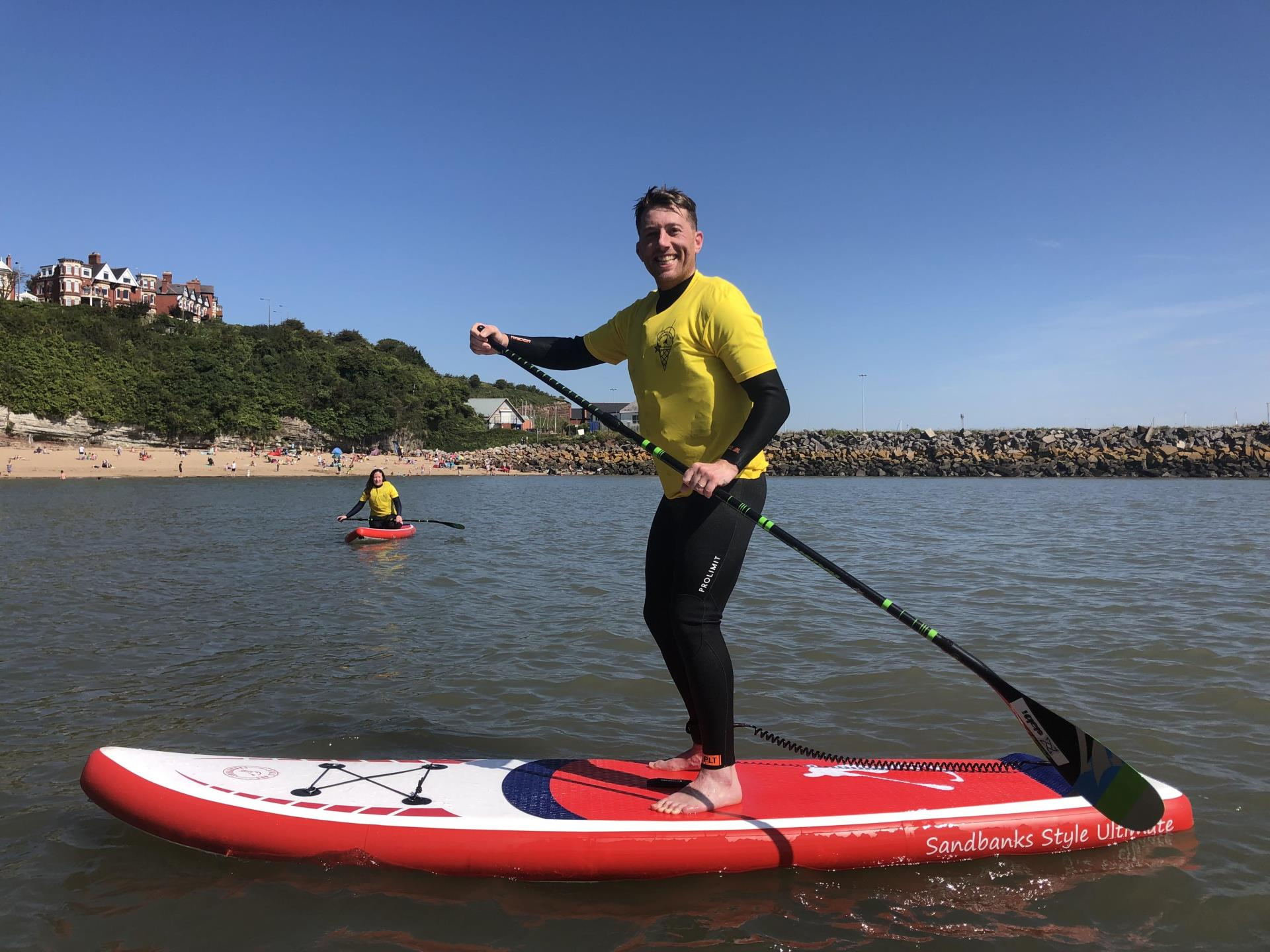 Beginner SUP Lesson, Jackson's Bay