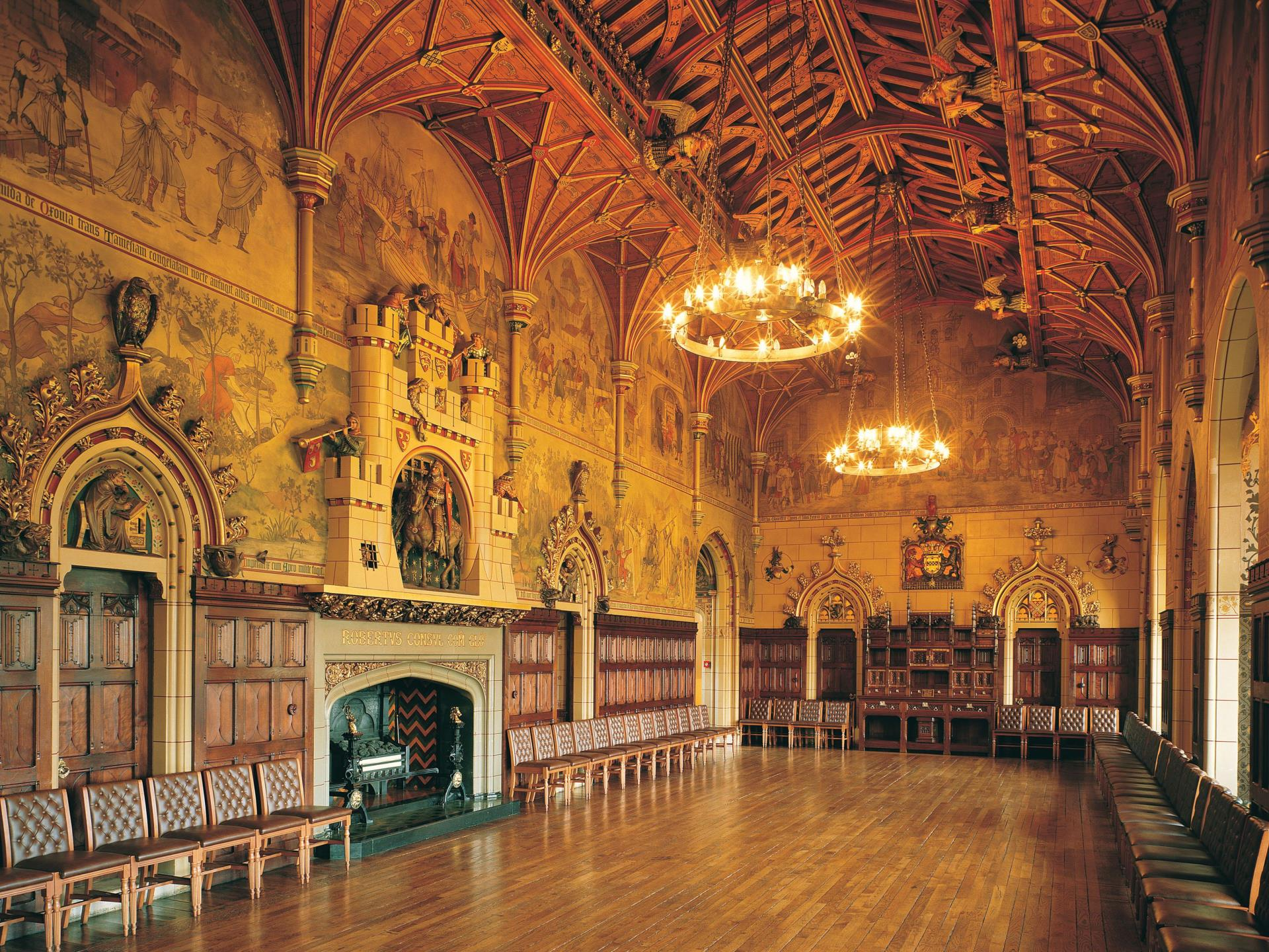 Cardiff Castle Banqueting Hall