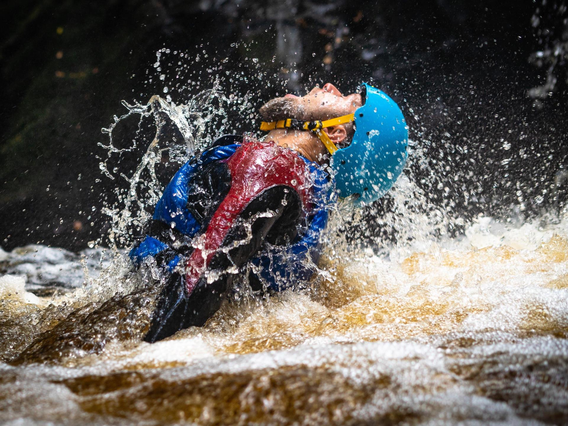 Escape the everyday on a canyoning experience