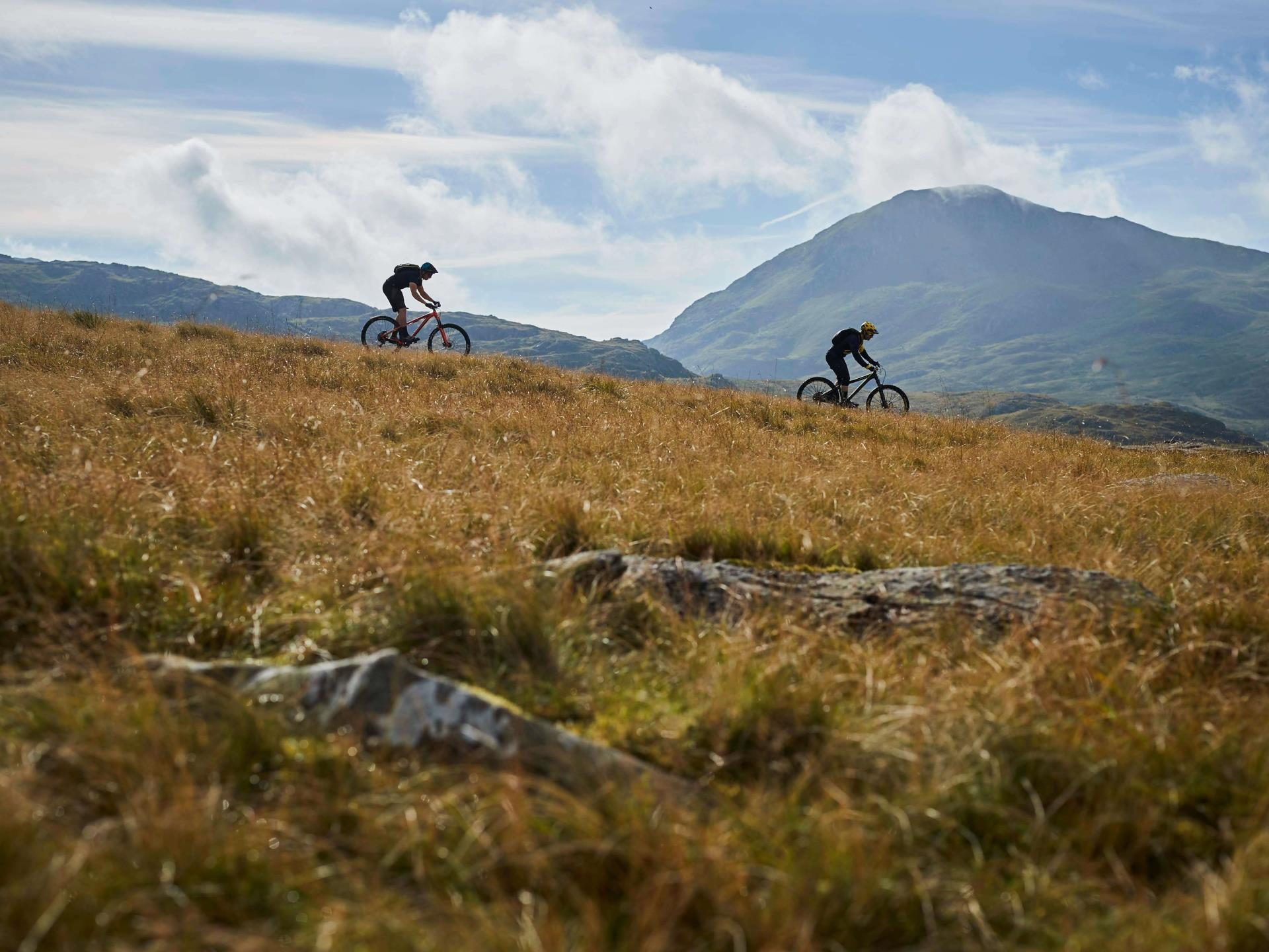 Guided Mountain Biking North Wales Adventure Holid