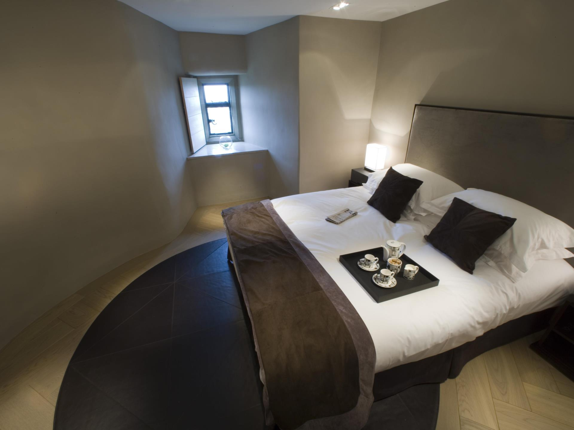 Nest Bedroom, Roch Castle, Pembrokeshire