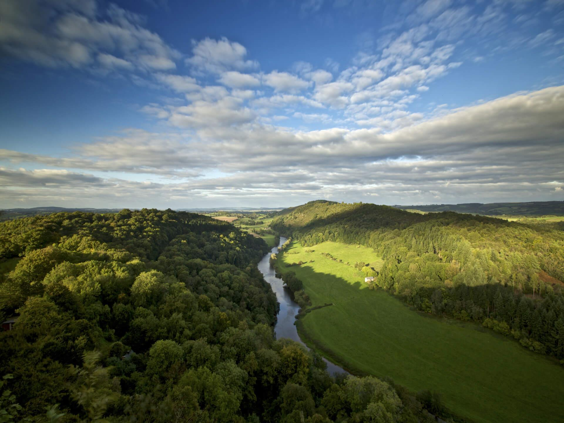 Wye Valley, Monmouthsire