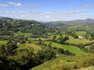 Views near Dinas Bran on Offa's Dyke