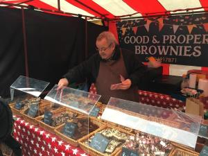 Stall at Caerphilly Christmas Market