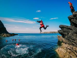 Coasteering with Anglesey Outdoors