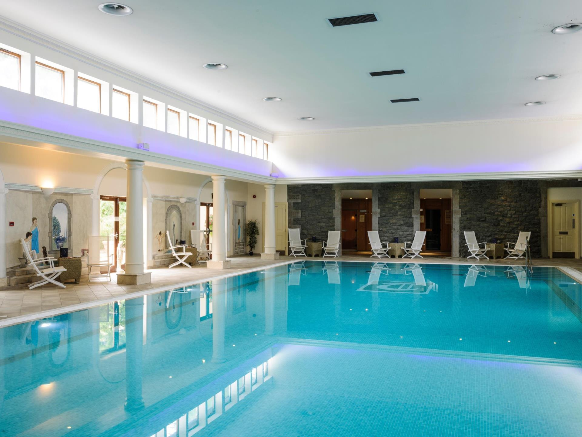 16m Level Decked Swimming Pool