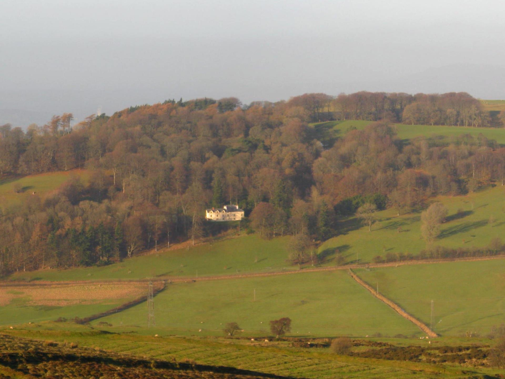 Plas yn Yale from mountain opposite