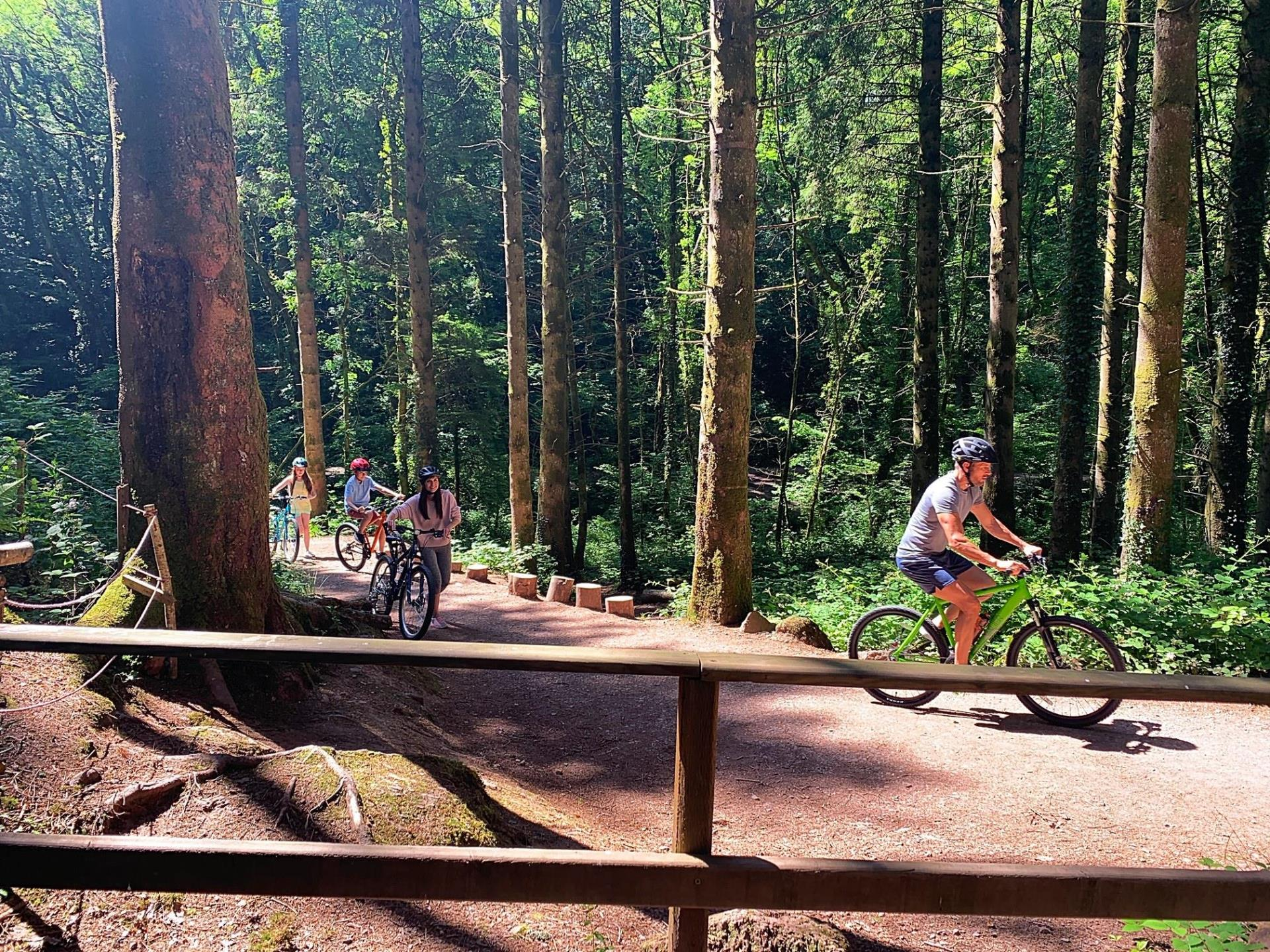 Cycle the Nature Trails across the 500 acre site