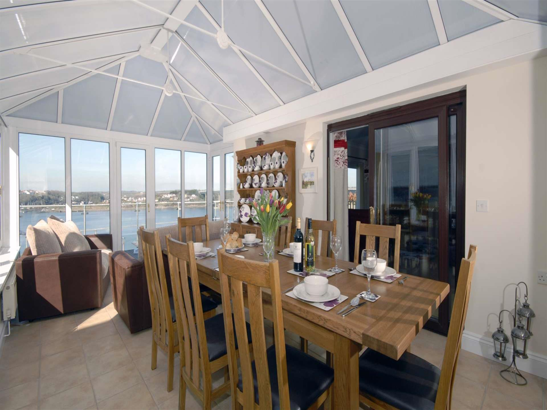 Pembrokeshire National Park holiday home - conserv