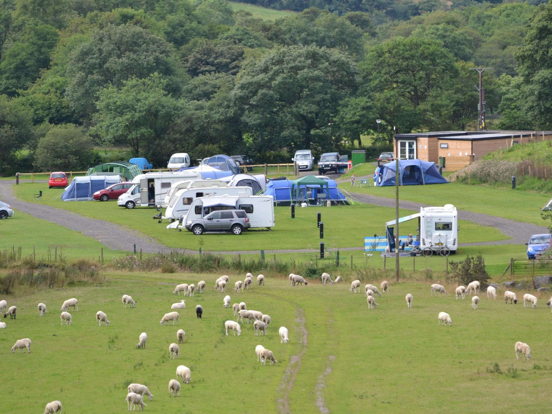 our Wesh Caravan and Camping