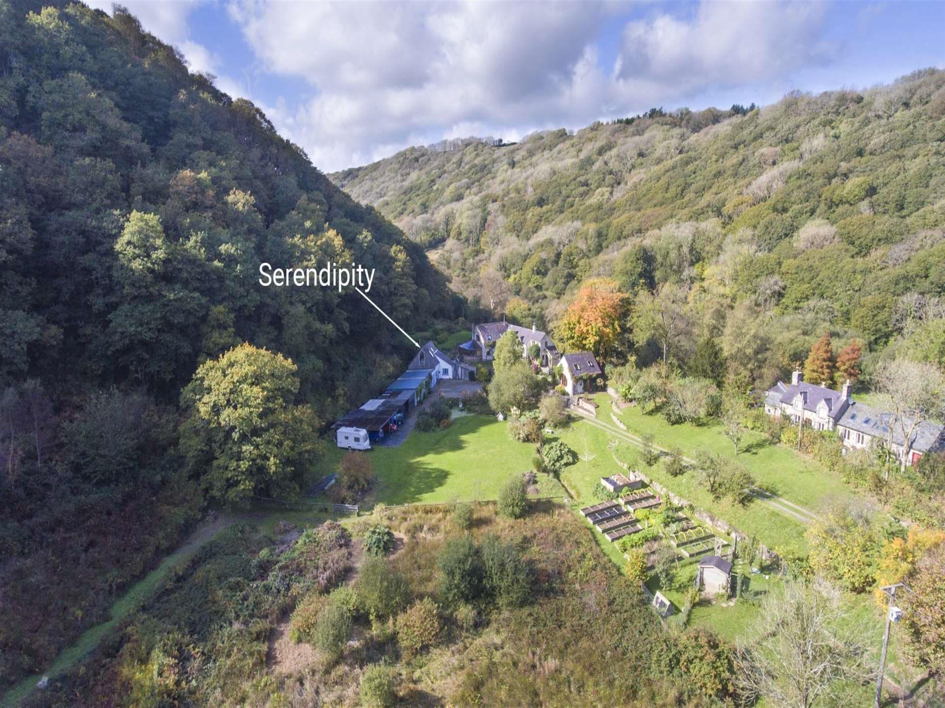 Holiday cottage in the Gwaun Valley