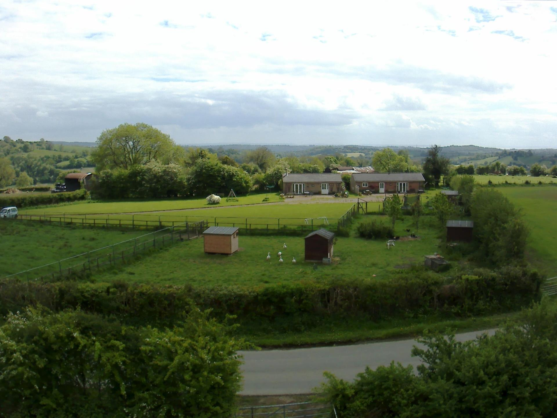 Aerial view of Blackthorn Meadow